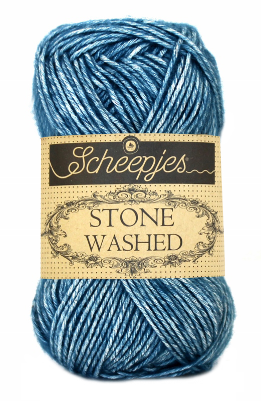 Scheepjes Stone Washed - 805- Blue Apatite