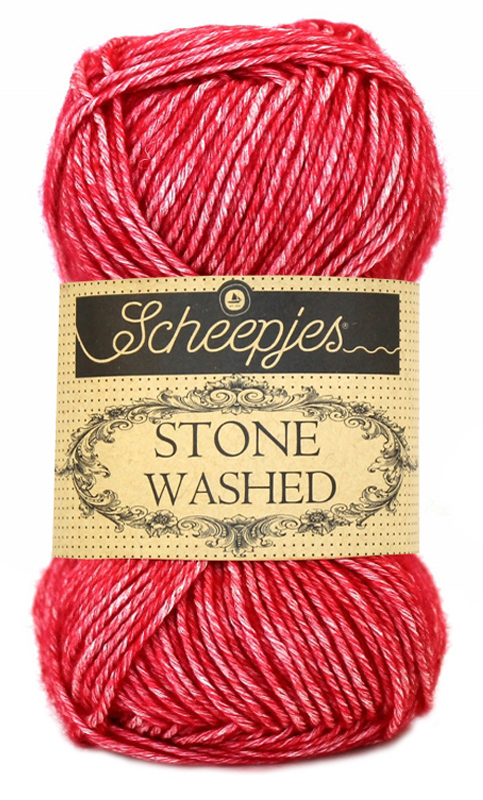 Scheepjes Stone Washed - 807 -Red Jasper
