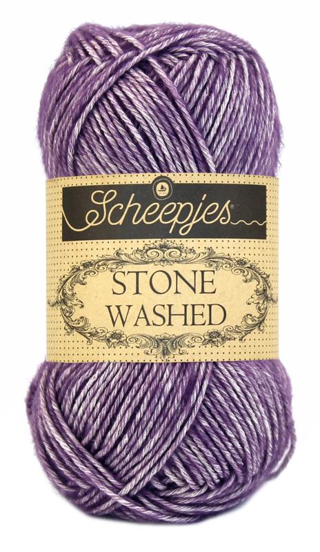 Scheepjes Stone Washed - 811 - Deep Amethyst