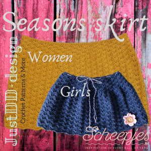 Seasons skirt adult and kids