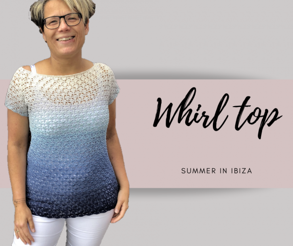 Whirl Top crocheted by Suzanne Klijn