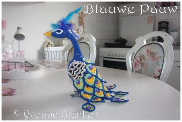 Blauwe Pauw Yvonne Blanker (c)