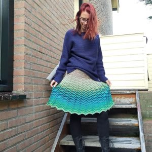 wave skirt JustDD-design (c)