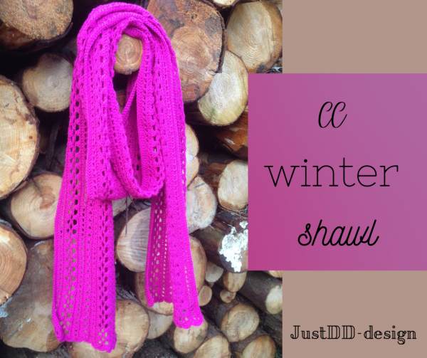 CC winter shawl by Diewerke van Biessum