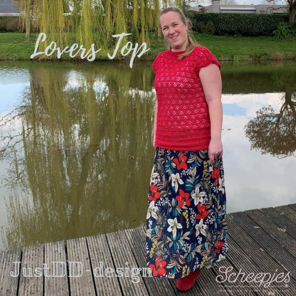 Lovers Top crocheted by Laura van Essen