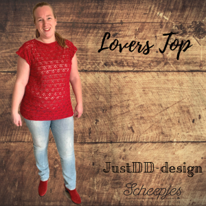 Lovers Top crocheted by Laura van Essen